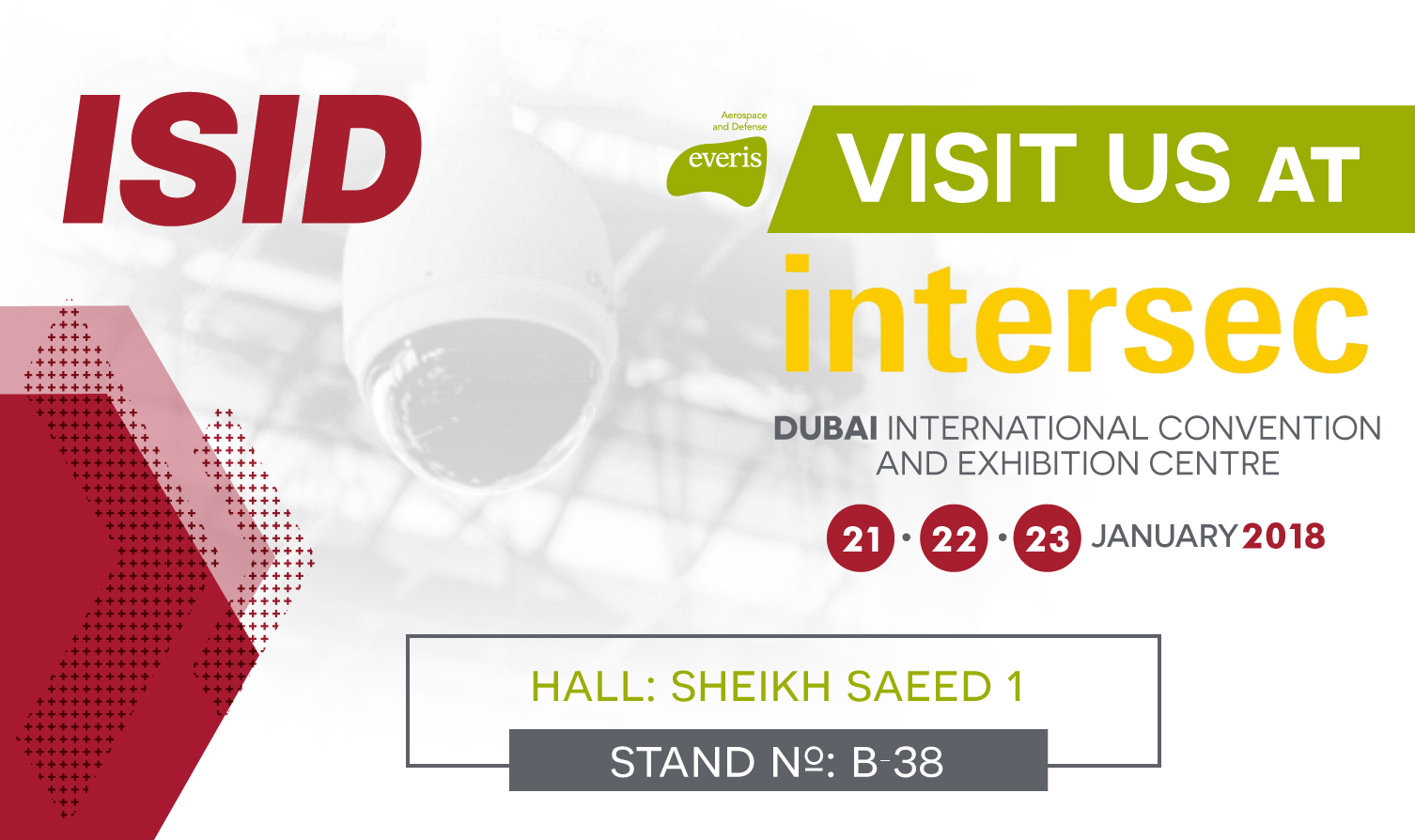 ISID will be present at Intersec Dubai 2018